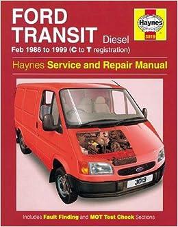 Ford Transit Diesel Feb 86 - 99 C To T Service & repair manuals: Amazon.es: John S. Mead, R. M. Jex: Libros en idiomas extranjeros