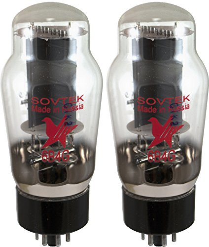 Single or Matched: Matched Pair Vacuum Tube 6B4G Sovtek