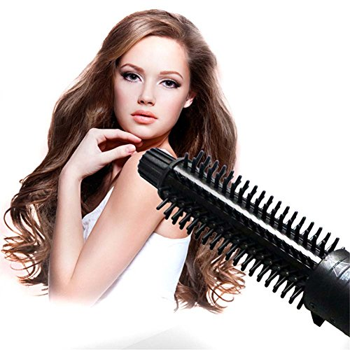 QJHP 5 in 1 Curling Wand Set Ceramic Cone Hair Curler Multifunction Temperature Control Self-Locking Function with 5 Interchangeable Barrels with Heat Resistant Glove by QJHP (Image #6)