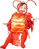 Infant Baby Lobster Costume - Fits Child Wearing 6-18 Month Clothing