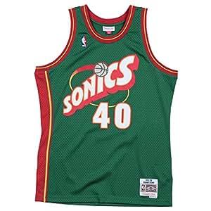 Mitchell & Ness Maillot Seattle Super Sonics Kemp Shawn #40