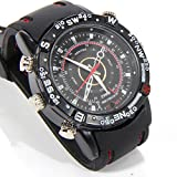 Hi-Tech Vision Spy Rubber Wrist Watch With 4 GB Memory For Audio And Video Recording.