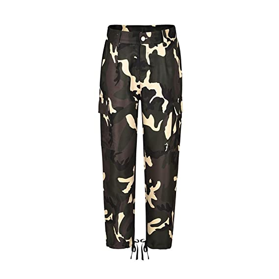 DOGZI Pantalones De Camuflaje para Mujer Pantalones De CháNdal De ...