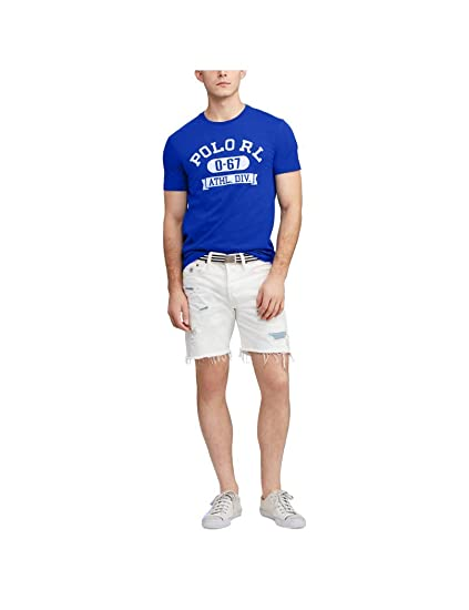 Polo Ralph Lauren Camiseta Manga Corta Custom Slim Fit Graphic tee ...