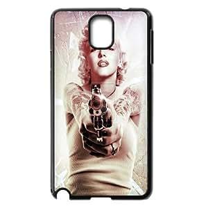 [QiongMai Phone Case] For Samsung Galaxy NOTE3 Case Cover -Super Star Marilyn Monroe-Case 7
