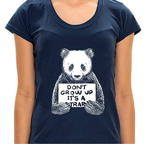 Camiseta Dont Grow Up - Feminina Camiseta Dont Grow Up - Feminino - G