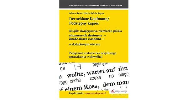 Amazoncom Der Schlaue Kaufmannpodstepny Kupiec Polish
