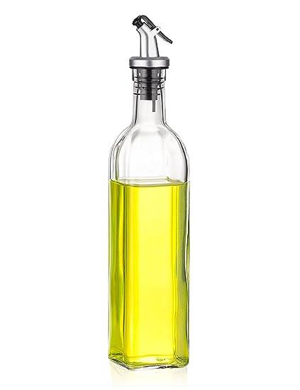 Botella de aceite a prueba de fugas, de UOMERE, para aceite, vinagre,