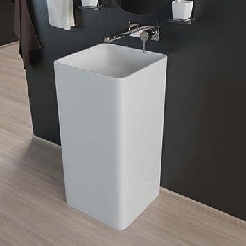 Design Stand Waschbecken Standsäule Säule Waschtisch Waschbecken ...