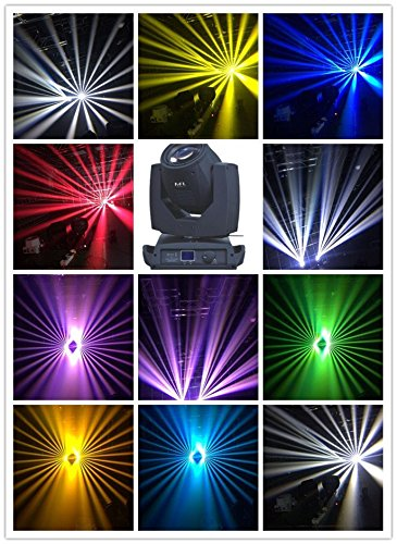 Emily Clay - Professional 200w 5R moving head beam stage party disco KTV bar light clay paky sharpy with carton package