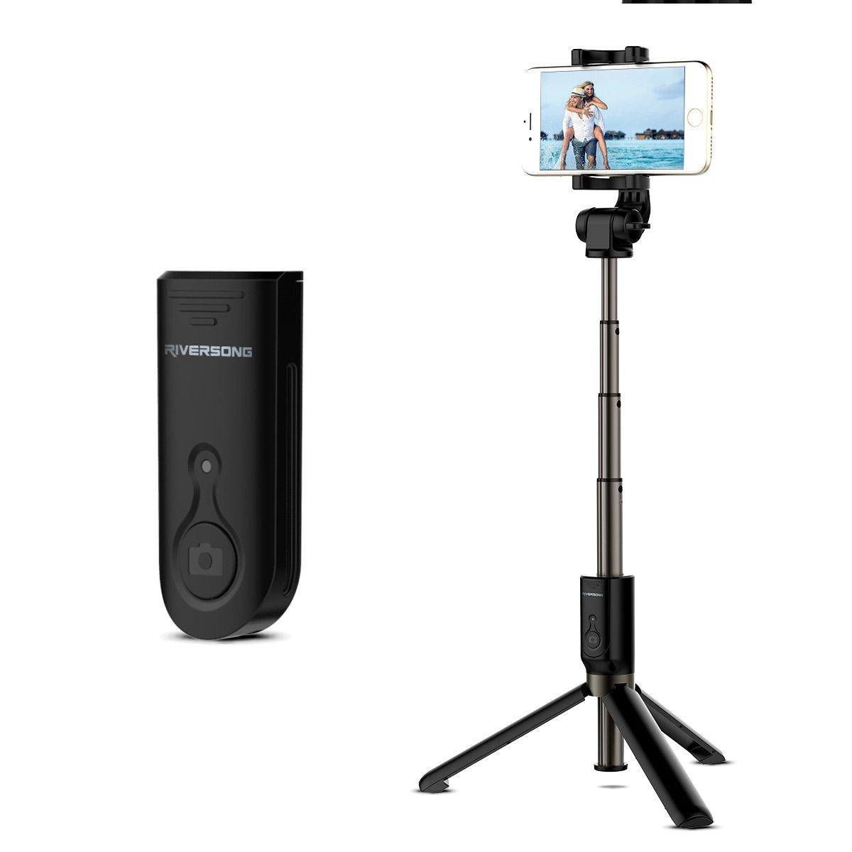 Bluetooth Trípode Selfie Palo Selfie para iphone s plus Samsung Huawei Oneplus