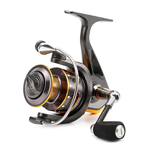 Cheap SeaKnight DR Spinning Reel 16 LB Powerful Carbon Fiber Drag 11BB Spinning Fishing Reel with Plastic Spare Spool