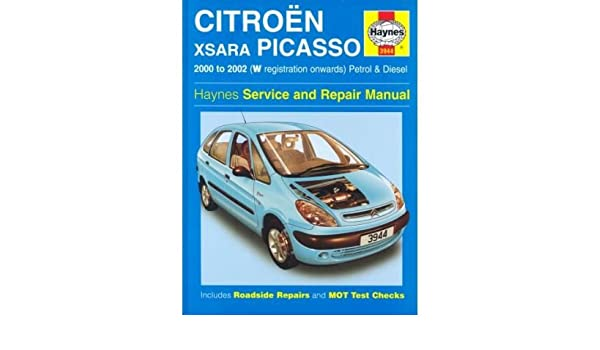 Citroen Xsara Picasso: Petrol and Diesel 2000-2002 Author: John S ...