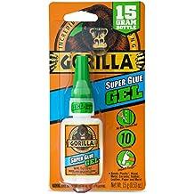 Gorilla Super Glue Gel, 15 g, Clear