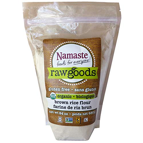 (Namaste Foods Organic Brown Rice Flour, 24 Ounce (Pack of 6))