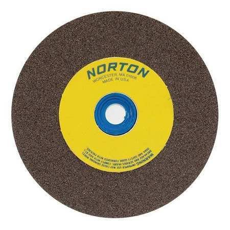 Norton 66253263056 Grinding Wheel, T1, 12x2x1.5, Ao, 60/80, Brn