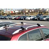 Roof Rack Locking Cross Bars Nissan Murano, Quest, Rogue