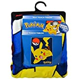 Pokémon Pokemon Pikachu 46x60 Silk Touch Throw Blanket, 46''x 60'', Multicolor