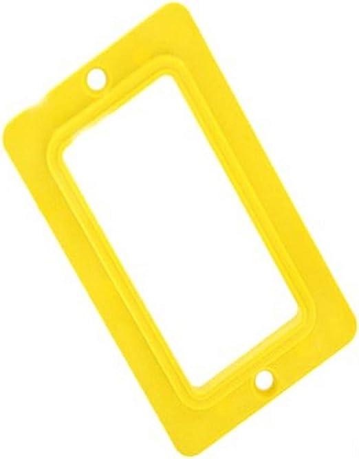 Single-Gang Standard Leviton 3060-E Coverplate Thermoplastic GFCI//Decora
