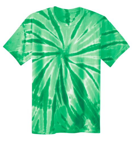 Koloa Surf Co. Youth Colorful Tie-Dye T-Shirt in Youth Sizes XS-XL Kelly Green ()