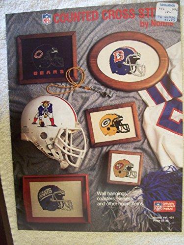 NFL Counted Cross Stitch (Vol. 401) (Nfl Cross Stitch)