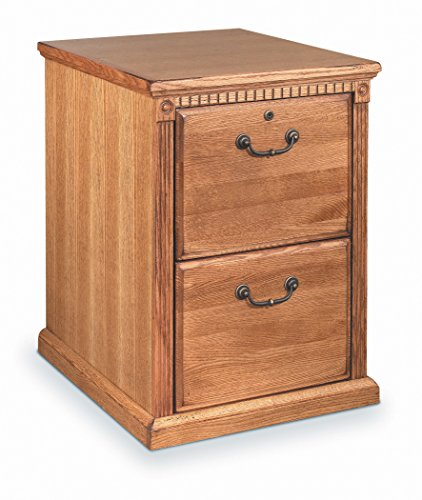 Martin Furniture Huntington Oxford 2 Drawer File Cabinet, Wheat - Fully Assembled
