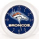 Broncos Wall Clock E94 Nice For Gift or Home Office Wall Decor 10''