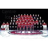 Team Photo Hockey Card 2016-17 Montreal Canadiens Postcards #25 Team Photo