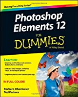 Photoshop Elements 12 For Dummies Front Cover