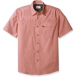 Wrangler Authentics Men's Big & Tall Short Sleeve Utility Shirt