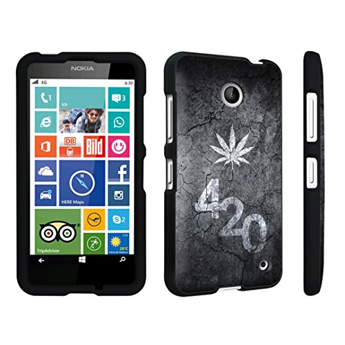 DuroCase ? Nokia Lumia 635 Hard Case Black - (Leaves 420 Black)