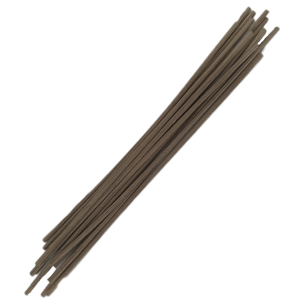 Healifty 30pcs Rattan Reed Diffuser Replacement Sticks Wood Oil Diffuser Sticks 25cm