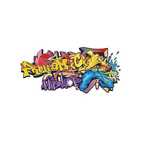 Taille Hip Hop Sticker 200 Prénom 85 X Cm Personnalisable Tag qpUVMGSz