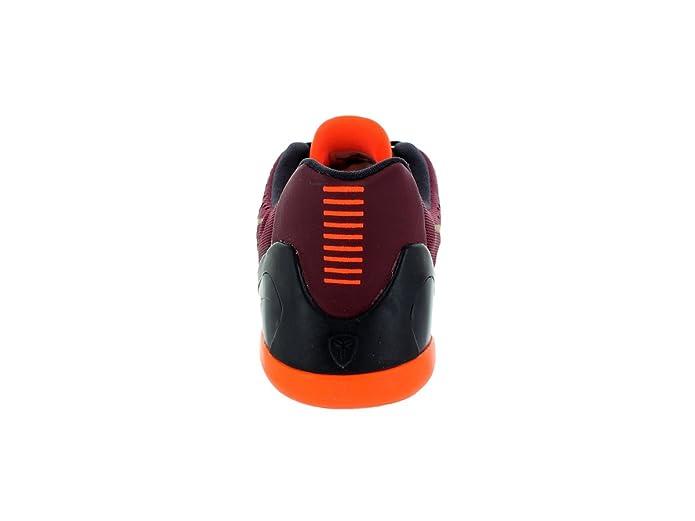 detailed look d03ec afc23 Amazon.com   Nike Kids Kobe IX (GS) Deep Garnet Metallic Gold Basketball  Shoe 7 Kids US   Basketball