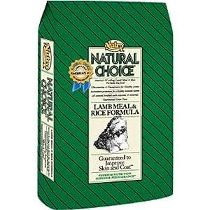 Amazon.com: Nutro Natural Choice Skin & Coat - Lamb & Rice