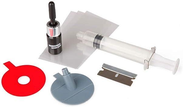 Accessoire auto de kit de r/éparation de pare-brise de verre de voiture R/éparation de vitre de pare-brise de voiture