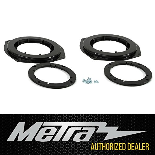 "C6 Corvette Front Upper Speaker Adapter Kit From 3.5"" Up to 6-3/4"" Metra 82-3014 Fits: All 05-13 Corvettes"