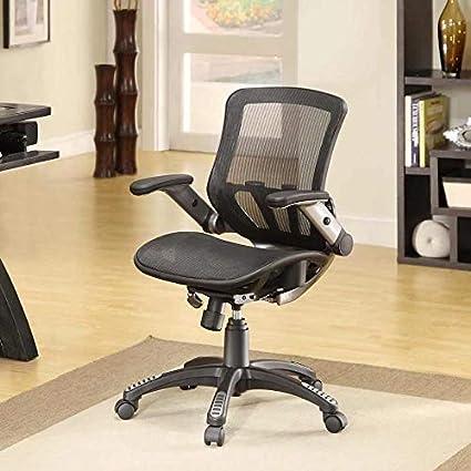 Amazon Com Bayside Furnishings Metrex Iv Mesh Office Chair Kitchen