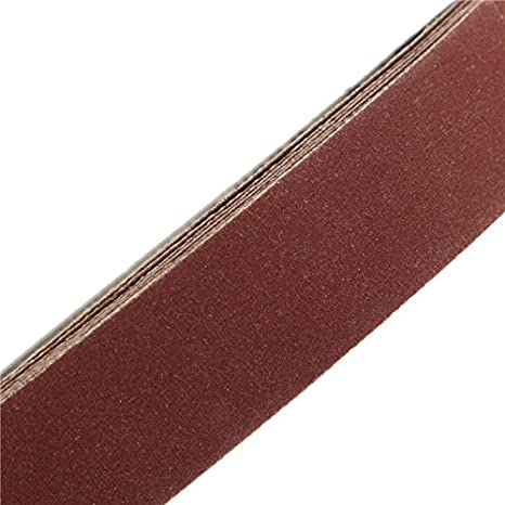 Chenxi Shop 10/pi/èces 760/x 25/mm Alumina abrasifs Bandes abrasives grain 40 1000