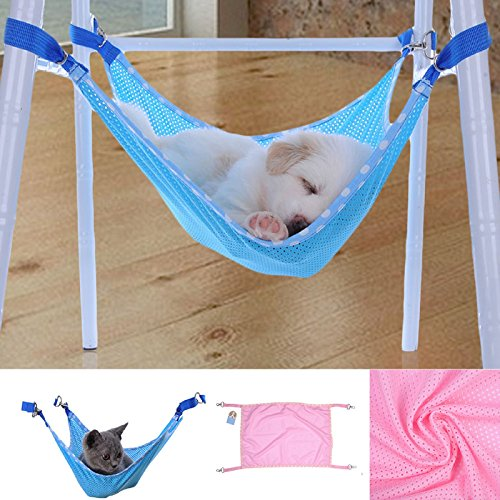 Hot Sale! Cute Pet Cat Dog Cage House Hammock Soft Bed Animal Hanging Pupply Net Cloth Hammock (L, - For Cats Glasses Sale For