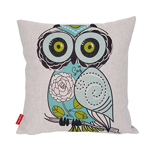 Custom Printed Throw Pillow Cases : Kingla Home Cotton Linen Square Decorative Throw Pillow Covers 18 X 18 Inch Custom Pillow Cases ...