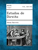 Estudos de Direito, Tobias Barreto, 1289345856