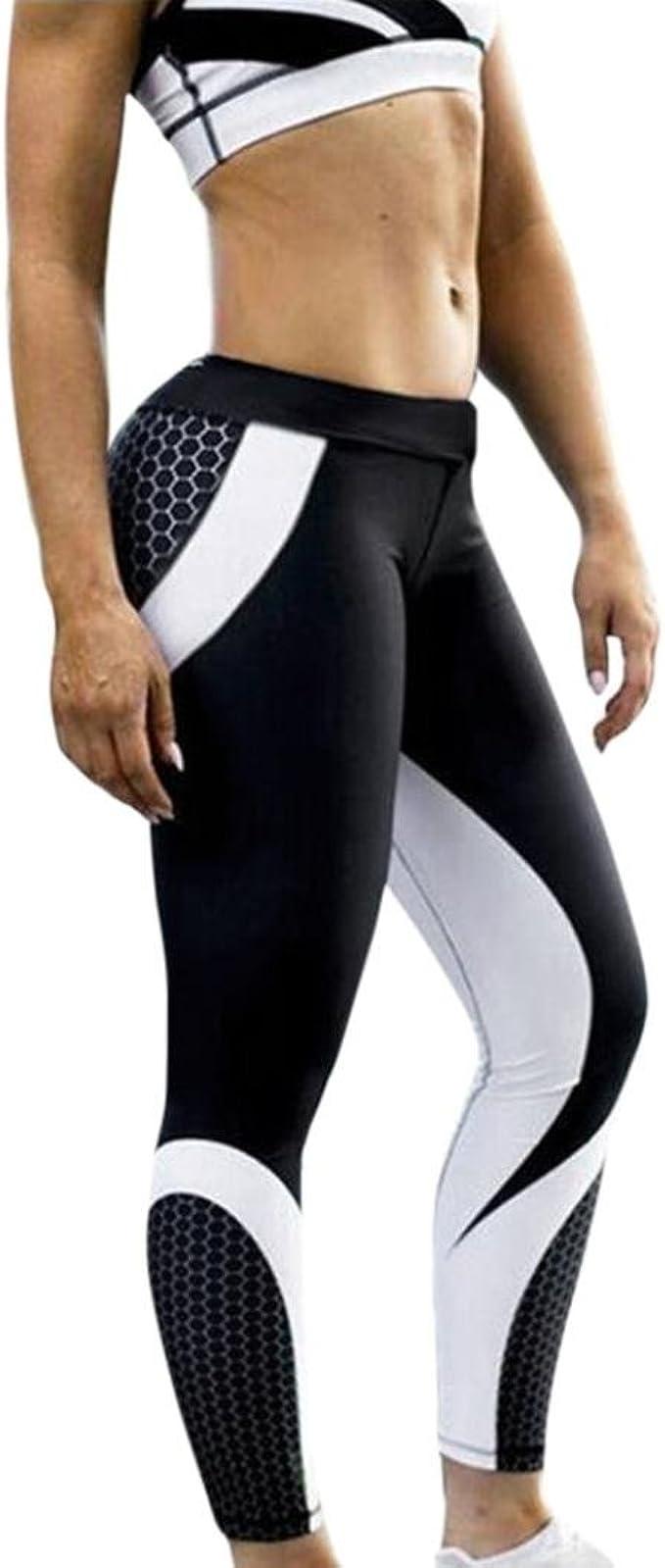 HUI.HUI Leggings Mujer, Mallas Deportivas de Mujer Leggings de ...