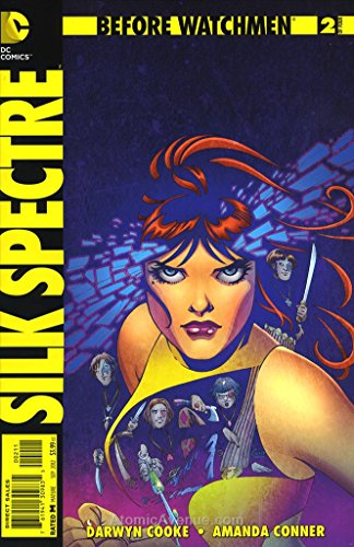 Before Watchmen: Silk Spectre #2 VF/NM ; DC comic book -