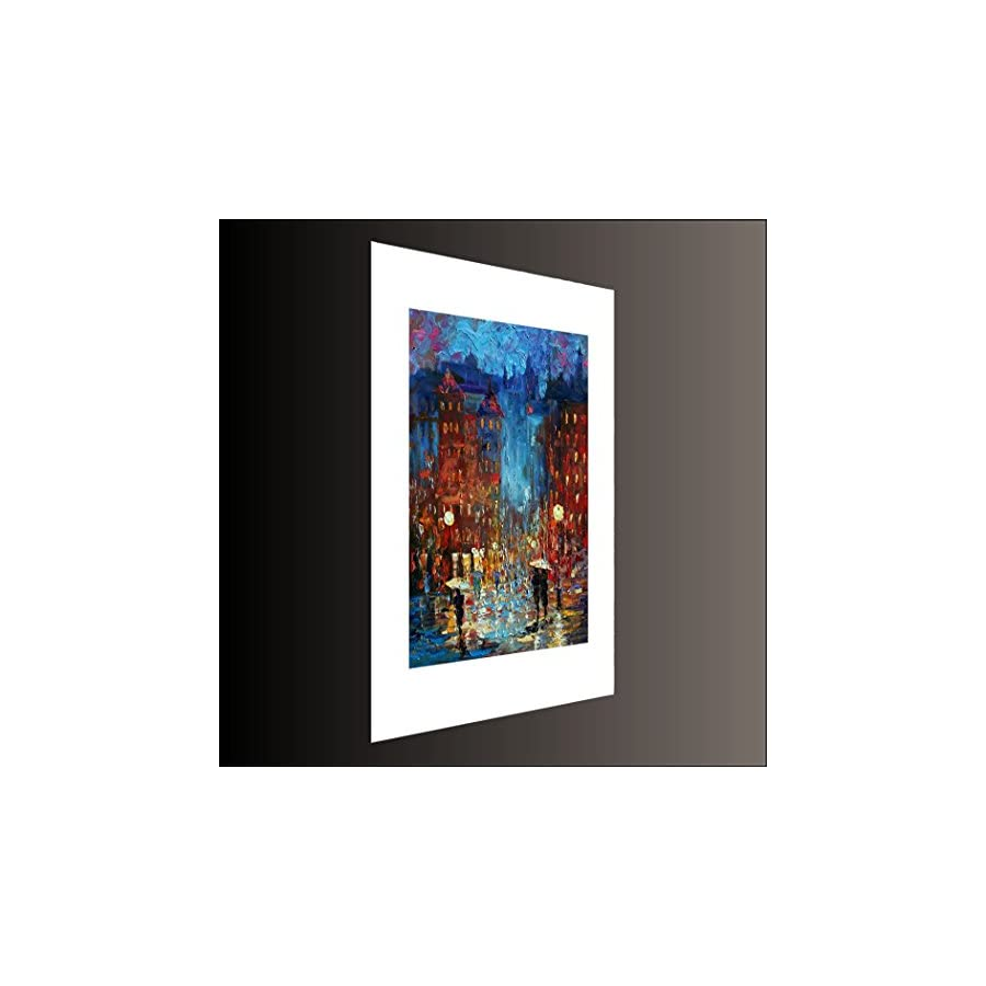 Old City Night 3 DAY SALE Limited Edition, Signed and Numbered Print