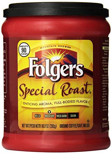 Folgers Special Roast Ground Coffee, Medium Roast, 10.3 Ounce