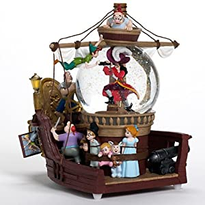 Disney store peter pan captain hook pirate ship musical - Bateau pirate peter pan ...