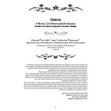 SINTESIS ORIGINAL 4-Bromo-2,5-Dimetoxifeniletilamina (2C-B): Sintesis (2C-B) Basada en la sintesis original de Alexander Shulgin (Spanish Edition)