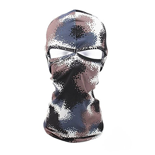 Topgee Windbreak Pattern Face Mask Motorcycle Bicycle Football Outdoor Sport Motorcycle Full Face Mask Women Men Face Mask Cap Summer & Winter
