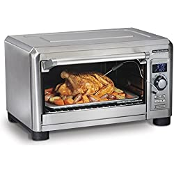 Hamilton Beach 31240 Professional Toaster Countertop Oven Convection, fits 6 Slices of Bread, Large, Stainless Steel